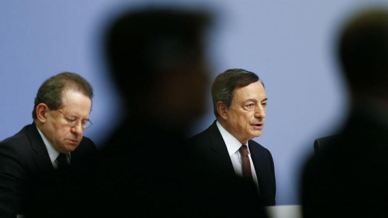 Vítor Constâncio e Mario Draghi