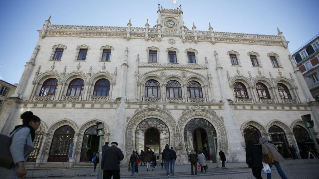 Estação do Rossio, em Lisboa