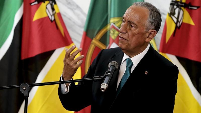 Marcelo Rebelo de Sousa em Moçambique