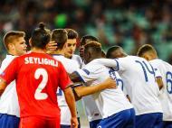 Sub-17: Azerbaijão-Portugal (André Sanano/ FPF)