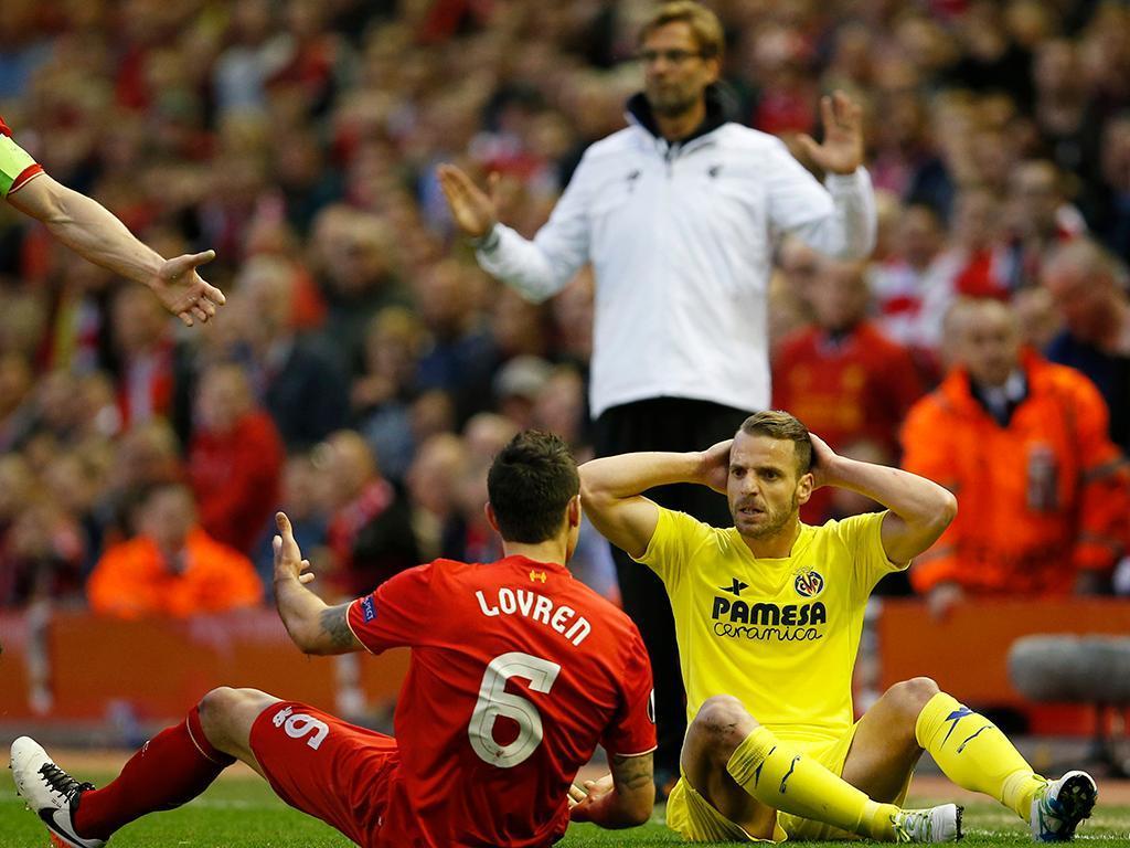 Liverpool-Villareal (Reuters)