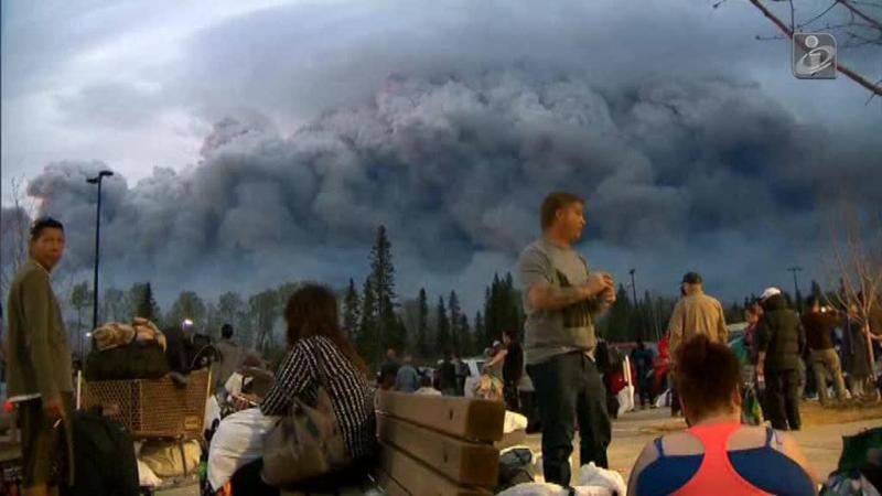 Incêndio no Canadá