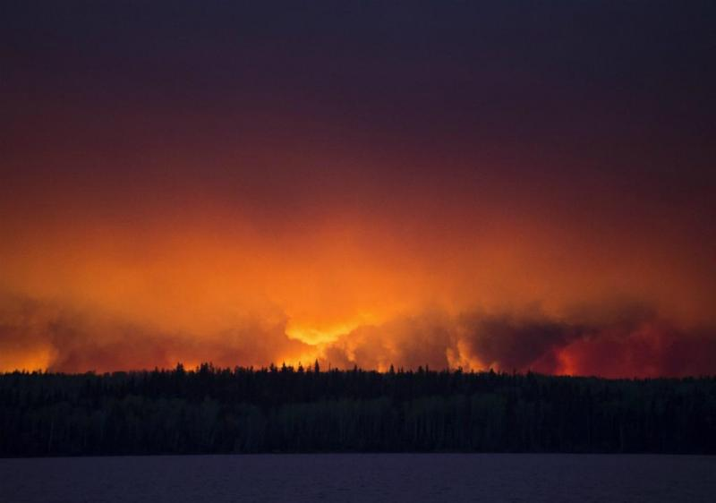 Gigantesco incêndio no Canadá [Lusa]