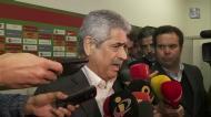 Luís Filipe Vieira: «Não ganhámos nada, não tem que haver euforia»