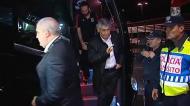 Jogadores do Benfica já estão no aeroporto para regressar a Lisboa