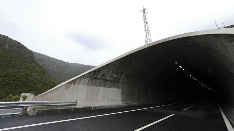 Inauguração do Túnel do Marão
