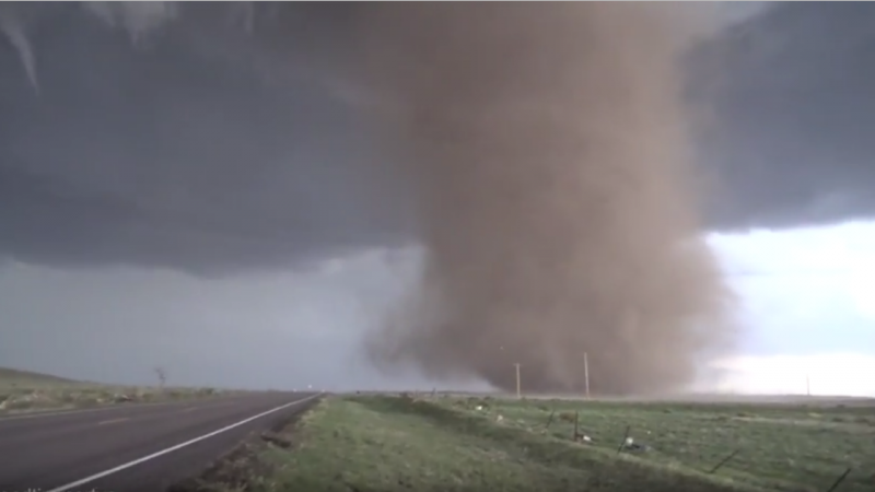Tornado no Colorado (EUA)