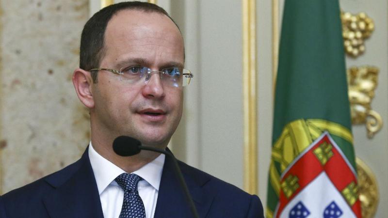 MNE albanês Ditmir Bushati em Lisboa