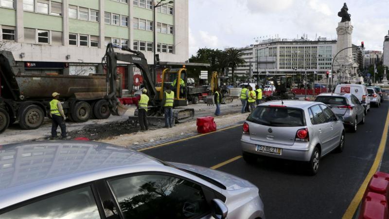 Automobilistas protestam contra obras em Lisboa