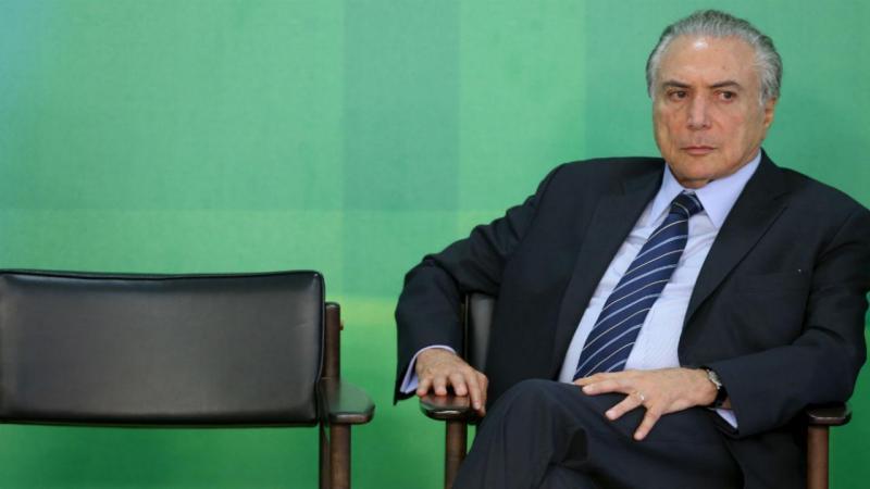 Michel Temer [Foto: Reuters]