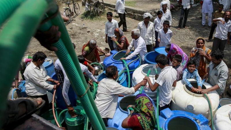 Pior seca das últimas décadas na Índia