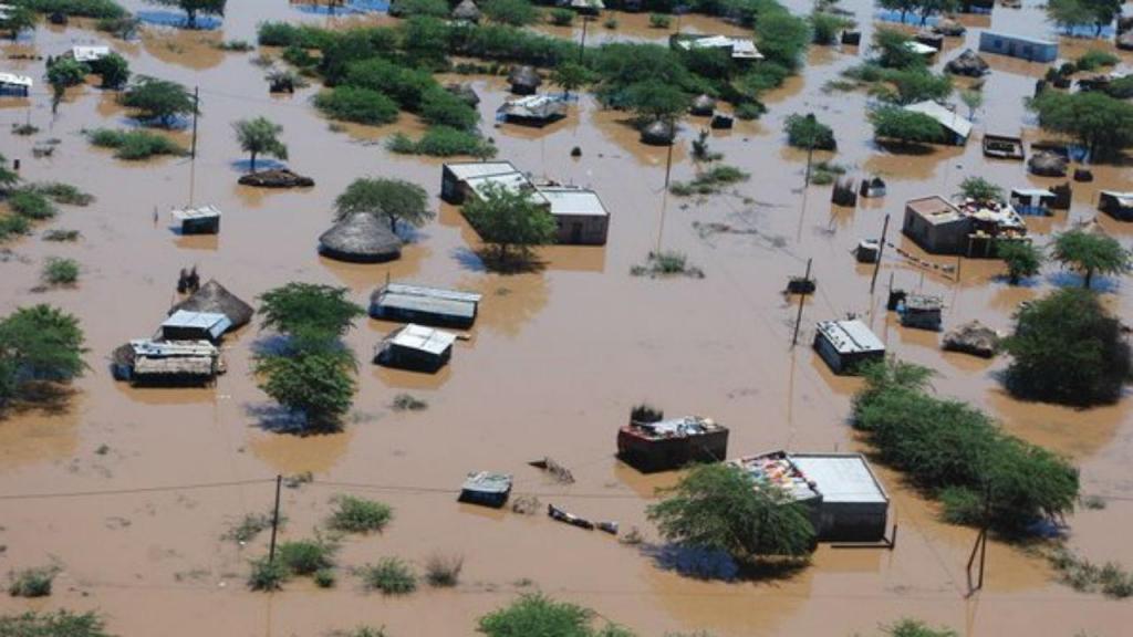 Inundações na Etiópia
