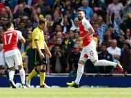 Arsenal-Aston Villa (Reuters)
