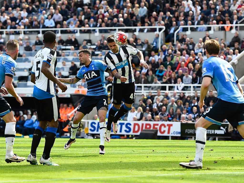 Newcastle-Tottenham (Reuters)