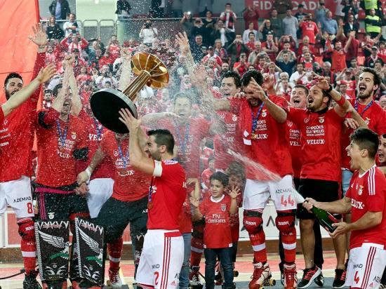 Benfica vence Liga Europeia de hóquei em patins