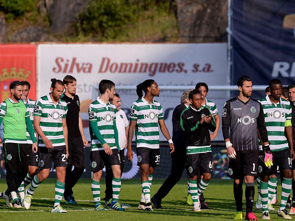 Redes sociais: a reação dos jogadores do Sporting