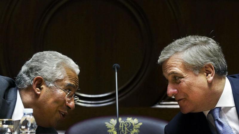 António Costa e Antonio Tajani
