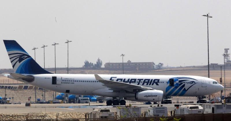 Avião da Egyptair