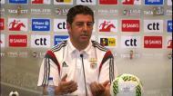 Rui Vitória admite mudanças para jogo da final