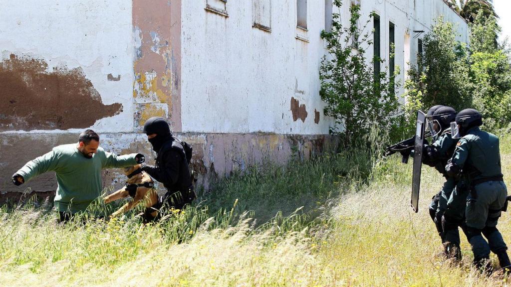 Exercício surge no âmbito da luta contra o terrorismo