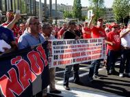 Taça da Liga, protestos (Lusa)