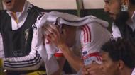 Gaitán em lágrimas no provável adeus ao Benfica
