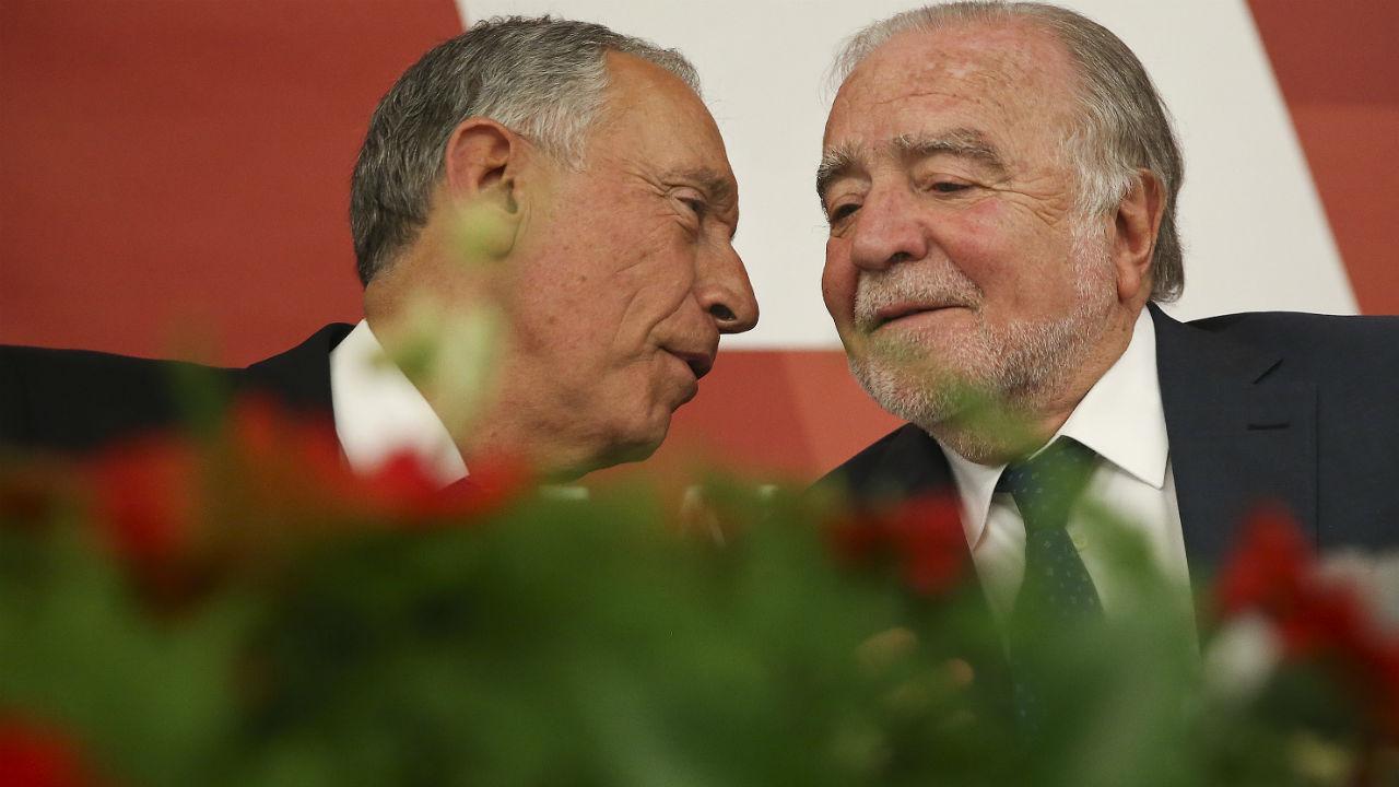Marcelo Rebelo de Sousa e Manuel Alegre