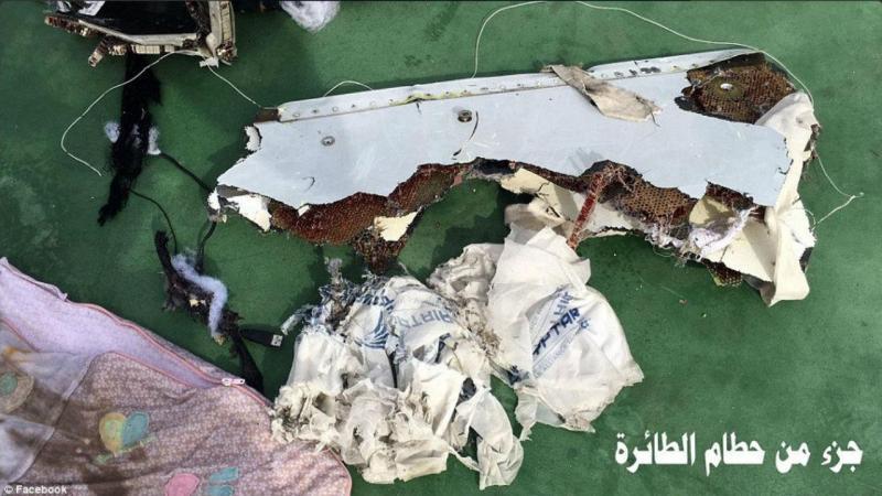 EgyptAir: imagens dos destroços já recolhidos