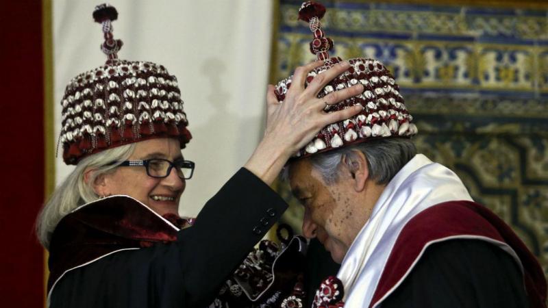 António Guterres recebe honoris causa em Coimbra