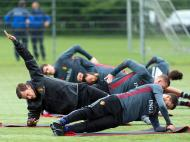 Euro 2016: Bélgica arranca preparação na Suíça (EPA)