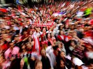 Câmara Municipal de Braga recebeu os vencedores da Taça de Portugal (LUSA)