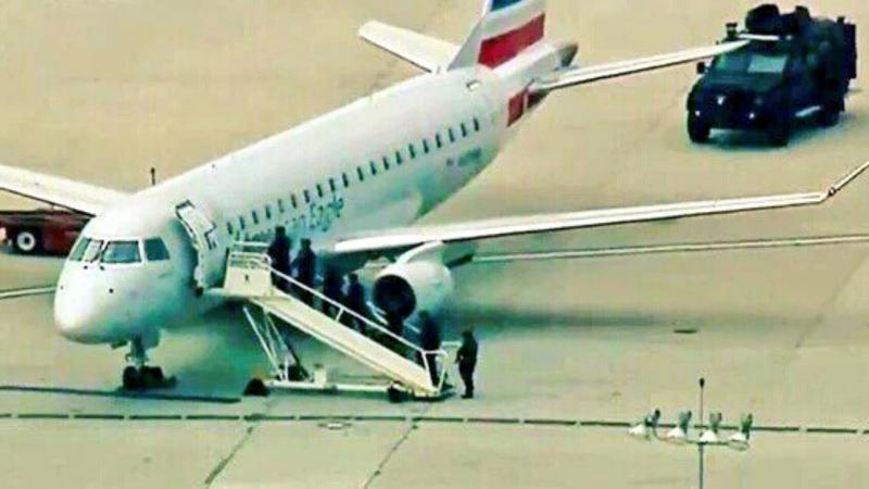Ameaça de bomba no aeroporto de Los Angeles