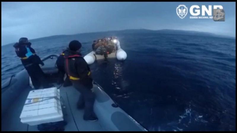 GNR resgata migrantes na Grécia (Arquivo)