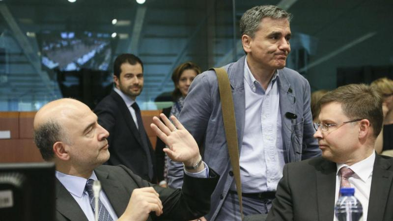 Pierre Moscovici e Euclid Tsakalotos