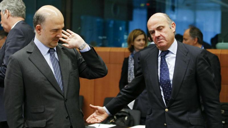 Pierre Moscovici e Luis de Guindos