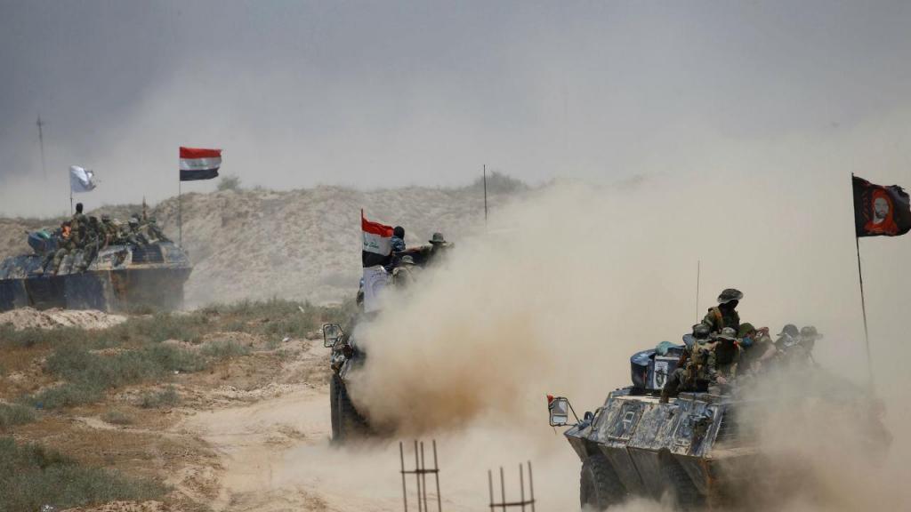 Forças do Governo iraquiano