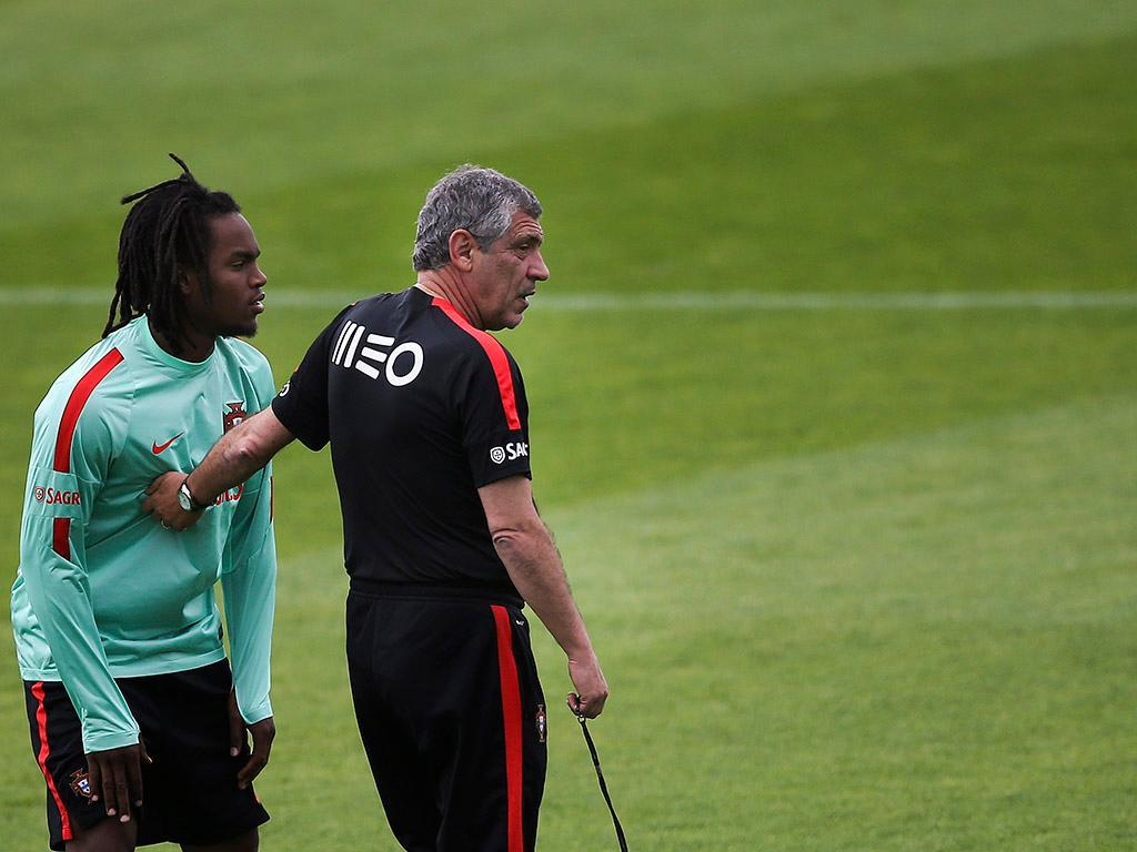 Seleção portuguesa já conta com Renato Sanches (LUSA)