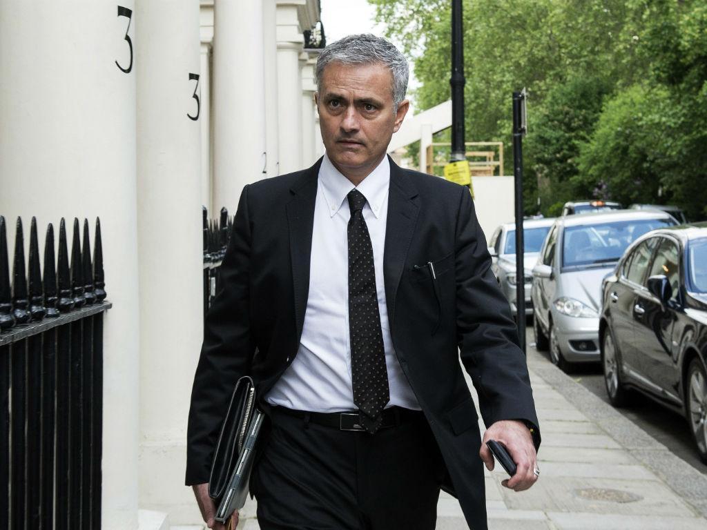 José Mourinho em Londres (Foto EPA)