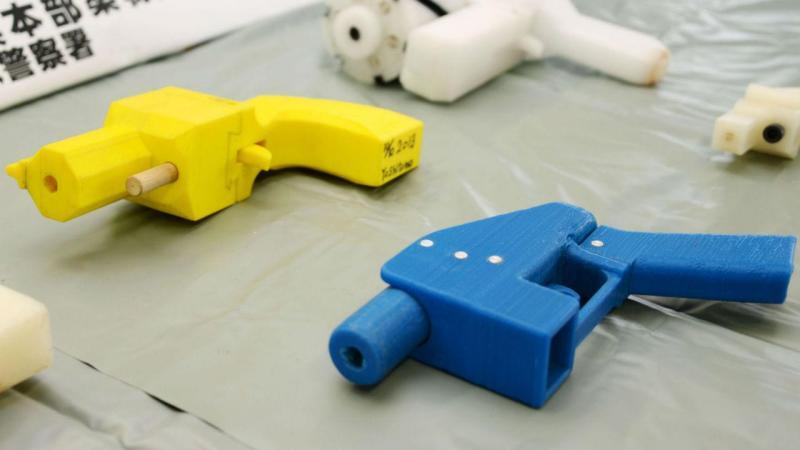 Arma de plástico
