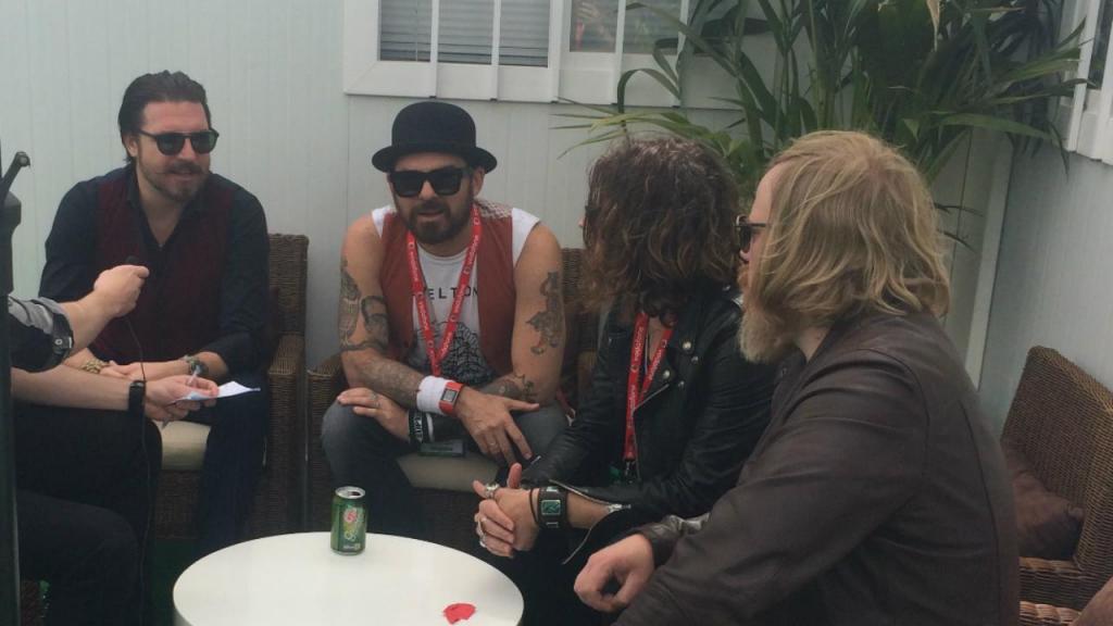 Entrevista com os Rival Sons