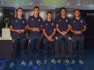 Campeões europeus de sub-17 distinguidos