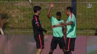 Seleção: Nani e Bruno Alves juntam-se aos trabalhos