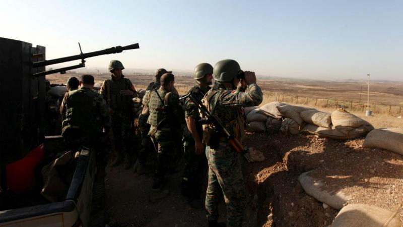 Peshmerga à conquista de Mosul