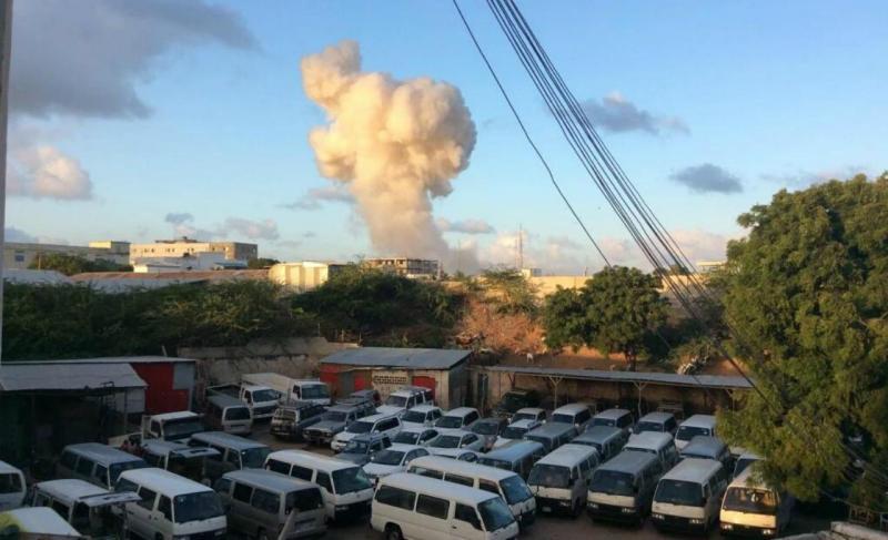 Explosão em Mogadíscio