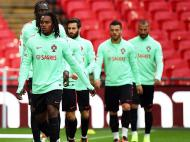 Selecção Nacional já treinou no Wembley (Lusa)