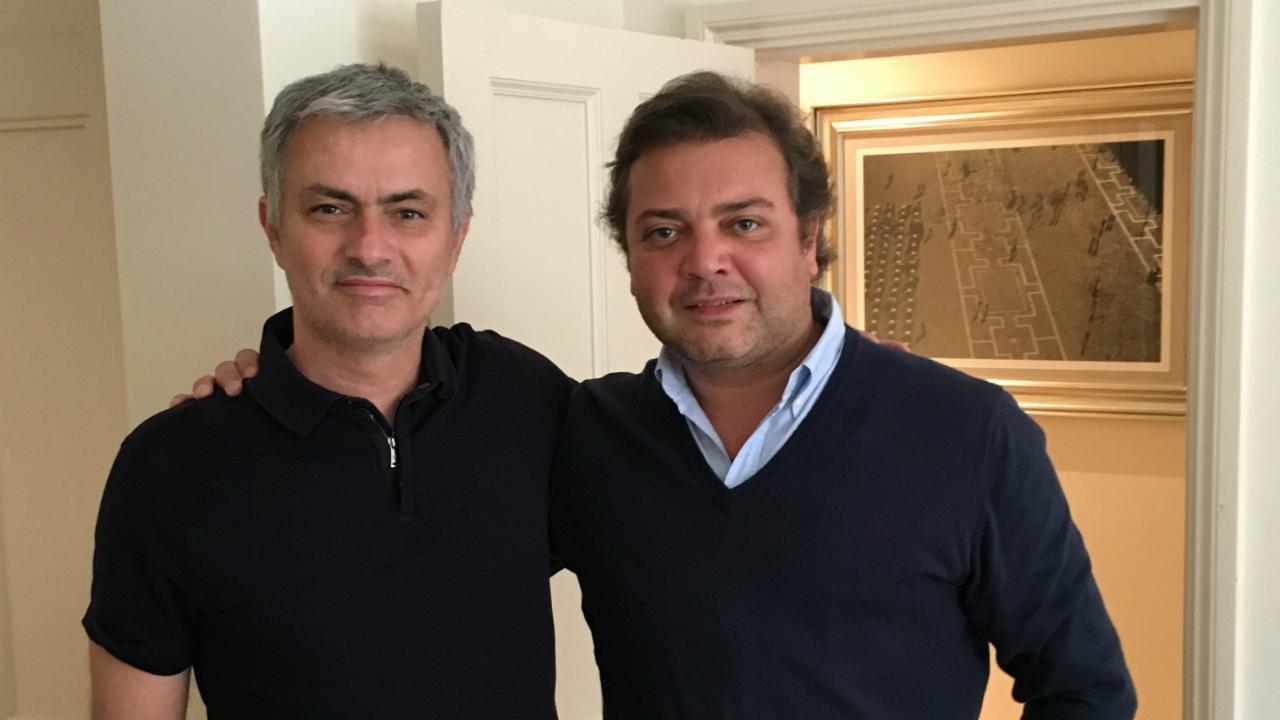José Mourinho e Rui Pedro Oliveira