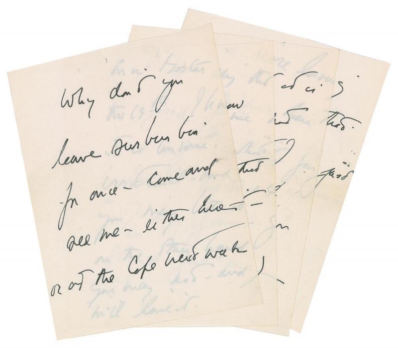 Carta de John F. Kennedy para a amante