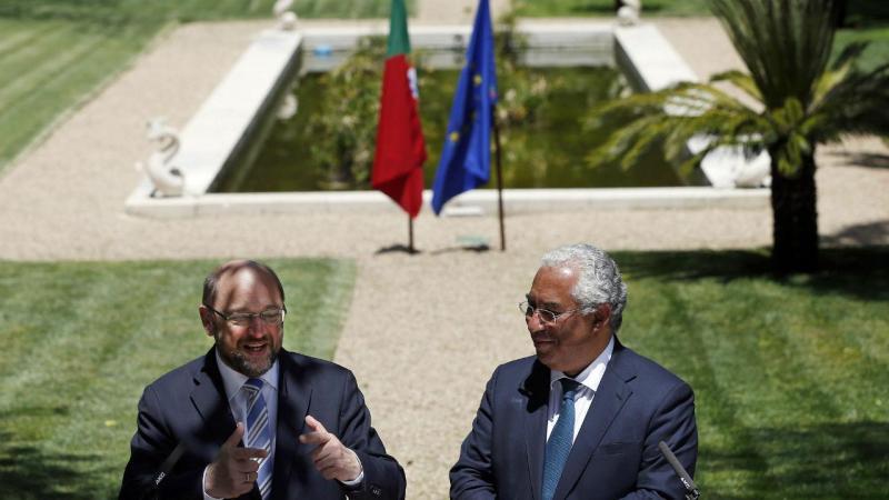 Martin Schulz e António Costa