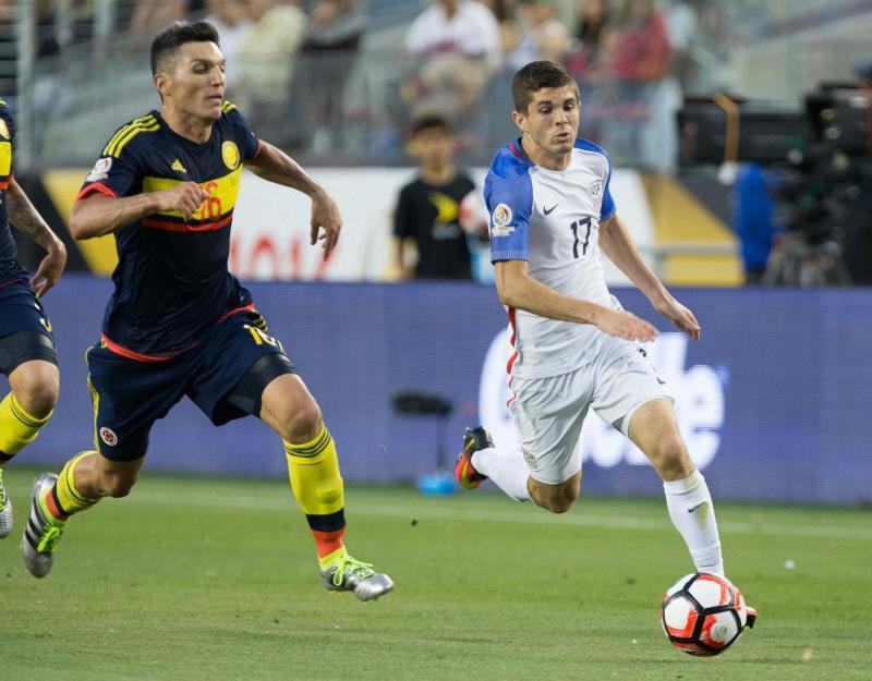 Colômbia x EUA na Copa América