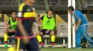 O desespero de James Rodríguez pela lesão